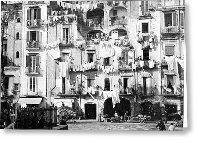 Naples Italy - c 1901 Greeting Card by International  Images