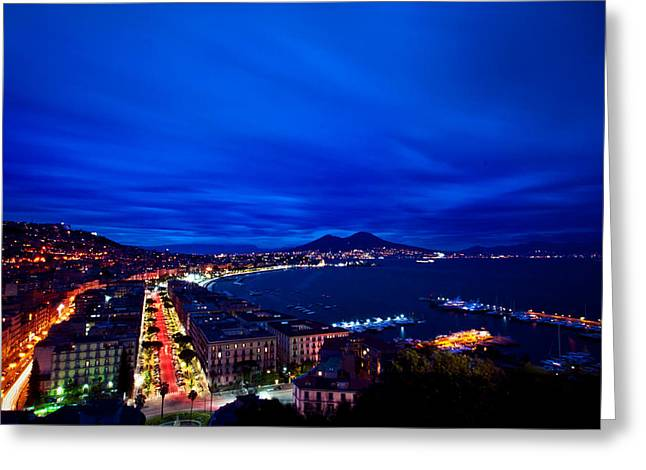 Sud Greeting Cards - Naples Greeting Card by Stefano Termanini