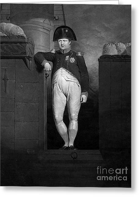Reform Greeting Cards - Napoleon Bonaparte, Military Leader Greeting Card by Photo Researchers