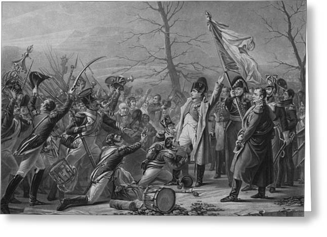 French Revolution Greeting Cards - Napoleon Returns From Elba Greeting Card by War Is Hell Store