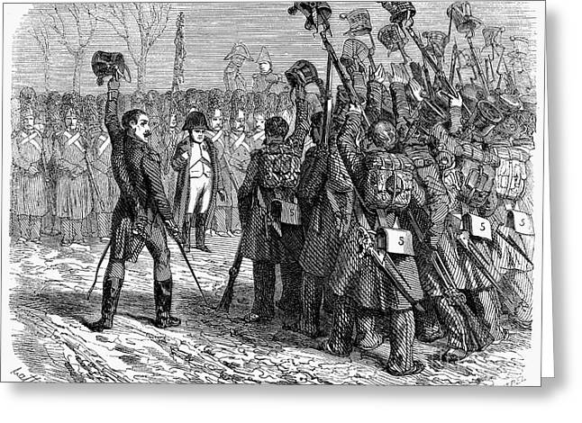 Napoleons Return, 1815 Greeting Card by Granger