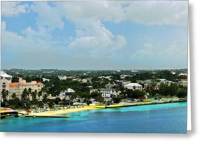 Nassau Greeting Cards - Nassau Bahamas  Greeting Card by Kathy Jennings