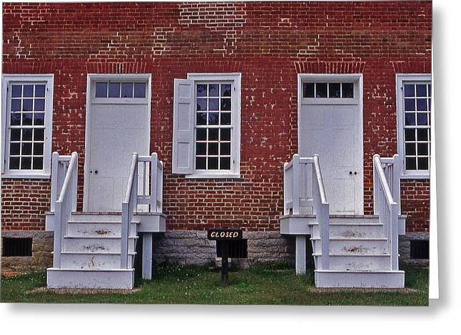 Natchez Trace Parkway Greeting Cards - Natchez Trace Gordon House - 1 Greeting Card by Randy Muir