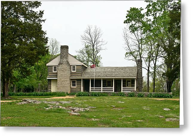 Nathan Bedford Forrest Boyhood Home 2 Greeting Card by Douglas Barnett