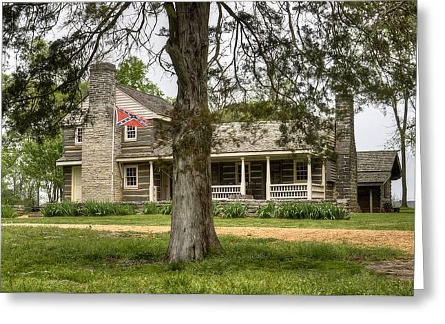 Nathan Bedford Forrest Boyhood Home 4 Greeting Card by Douglas Barnett