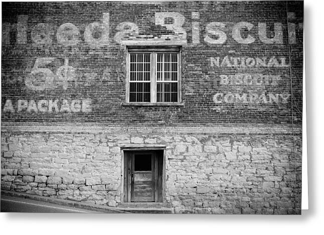 Tennessee Barn Digital Art Greeting Cards - National Biscuit Company Greeting Card by Paul Bartoszek