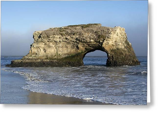 Natural Bridges State Park - Santa Cruz - California Greeting Card by Brendan Reals