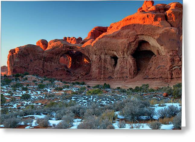 Spire Framed Prints Greeting Cards - Natural Caves Greeting Card by Paul Cannon