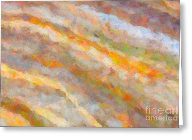 Creature Design Greeting Cards - Nature Abstract I Greeting Card by Clarence Holmes