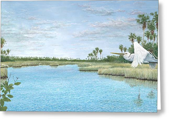 Nature Coast Greeting Card by Kevin Brant