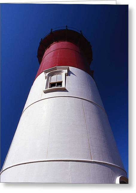 Photogaphy Greeting Cards - Nauset Beach Lighthouse Greeting Card by Skip Willits