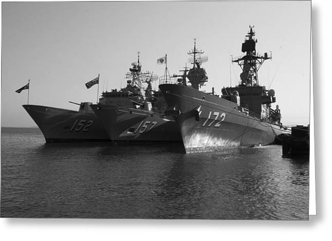 Naval Joint Ops V1 Greeting Card by Douglas Barnard