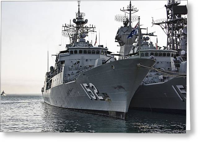 Naval Joint Ops V2 Greeting Card by Douglas Barnard