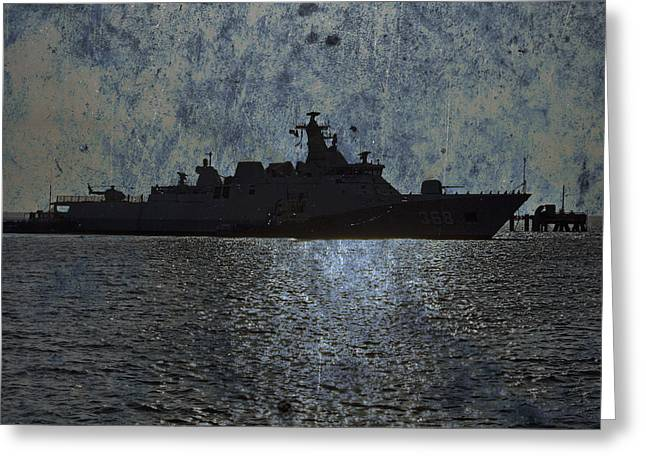 Naval Joint Ops V3 Greeting Card by Douglas Barnard