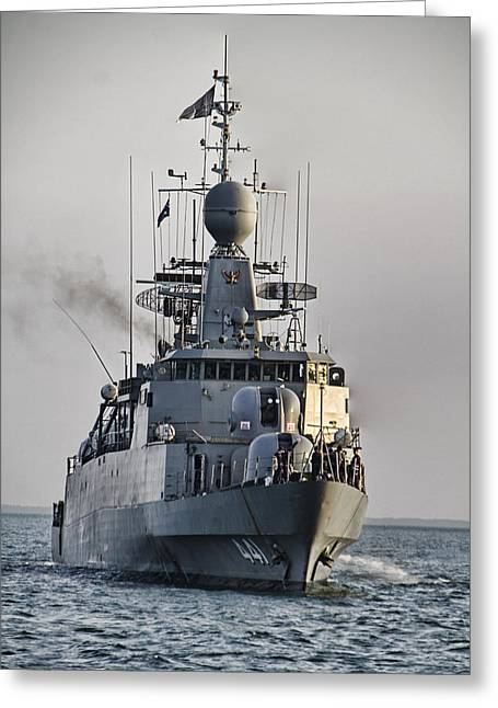 Naval Joint Ops V5 Greeting Card by Douglas Barnard