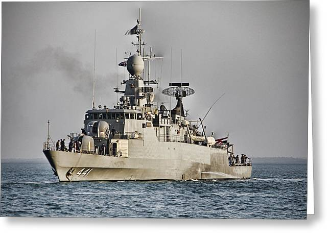 Naval Joint Ops V8 Greeting Card by Douglas Barnard