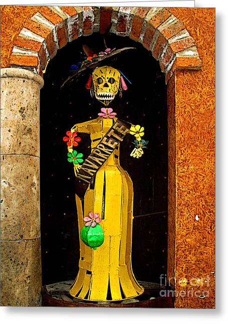 Scuplture Greeting Cards - Navarrete 1 Greeting Card by Olden Mexico
