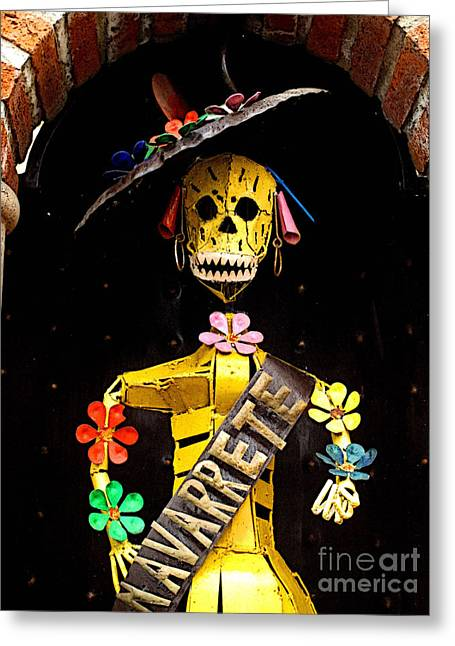 Scuplture Greeting Cards - Navarrete 2 Greeting Card by Olden Mexico