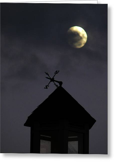 Weathervane Greeting Cards - Navigate the Night Greeting Card by Natalie LaRocque