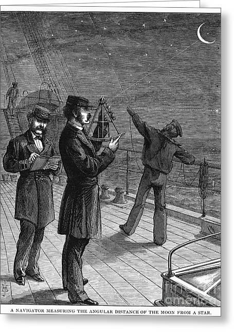 Navigation, 1871 Greeting Card by Granger