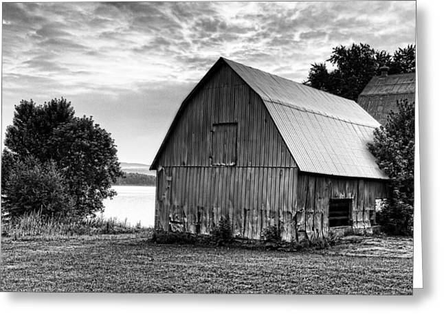Wooden Building Greeting Cards - Near The Water Greeting Card by Tim Wilson