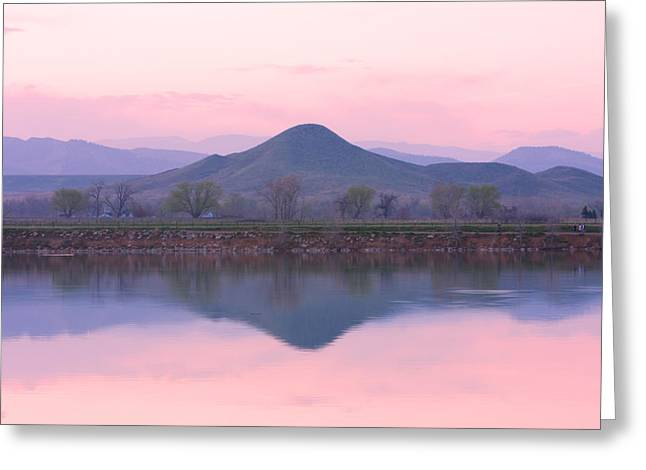 Refection Greeting Cards - Needle In a Haystack Mountain Greeting Card by James BO  Insogna