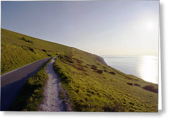 Raf Greeting Cards - Needles Battery Isle of Wight Greeting Card by Jan Faul
