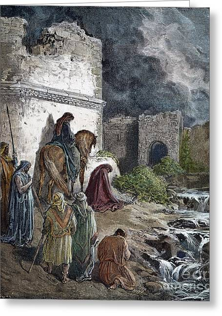 Dore Photographs Greeting Cards - Nehemiah: Jerusalem Greeting Card by Granger