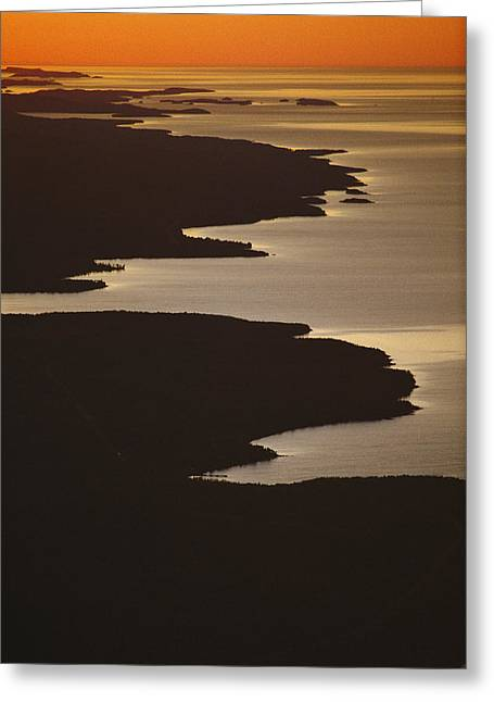 Lucille Greeting Cards - Neighboring Islands Lucille Greeting Card by Phil Schermeister