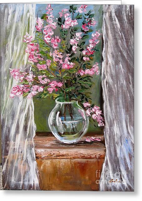Romantico Greeting Cards - Nel tuo cuore un soffio di primavera  Greeting Card by Carla Colombo
