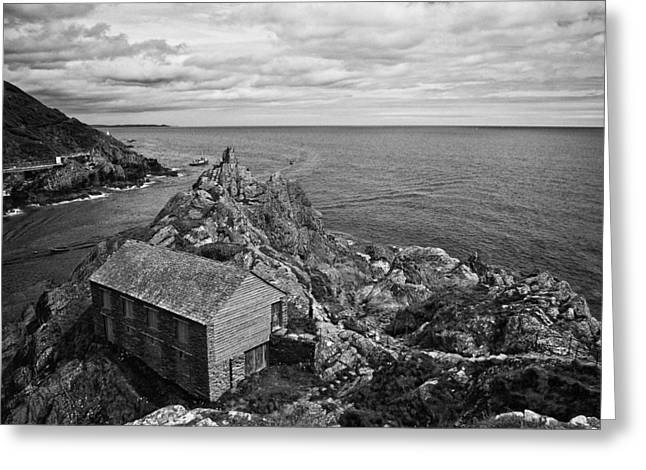 Shed Photographs Greeting Cards - Net Shed Greeting Card by Jay Lethbridge