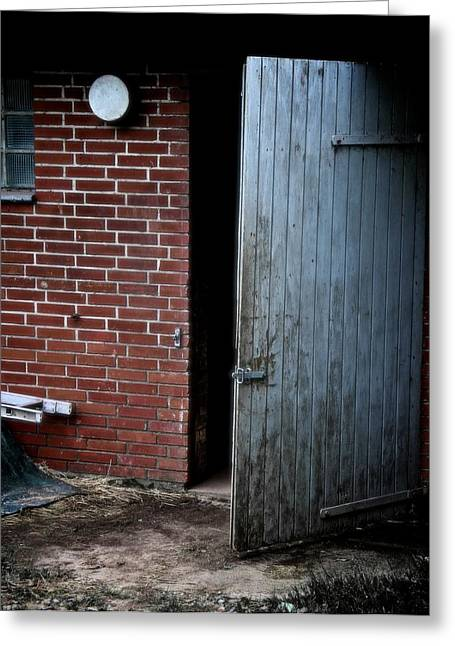 Outbuildings Greeting Cards - Never Coming Back Greeting Card by Odd Jeppesen