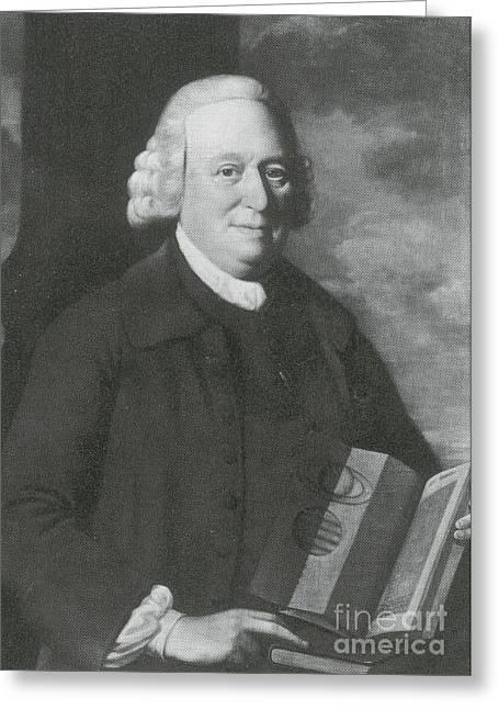 Nevil Maskelyne, English Astronomer Greeting Card by Science Source