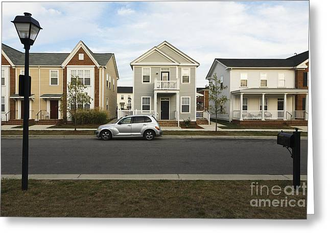 New Construction Home Greeting Card by Roberto Westbrook
