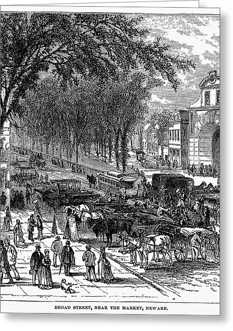 New Jersey: Newark, 1876 Greeting Card by Granger