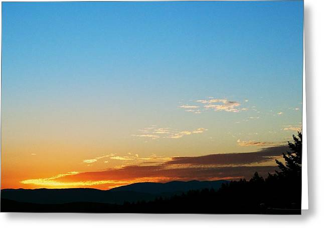 Sunset Posters Greeting Cards - New Lazy Summer Day Greeting Card by Kevin Bone