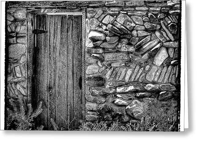 Hdr Landscape Greeting Cards - New Mexico Door III Greeting Card by David Patterson