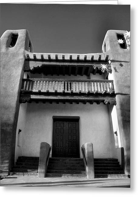 Historical Acrylic Prints Greeting Cards - New Mexico Museum of Art Greeting Card by Steven Ainsworth