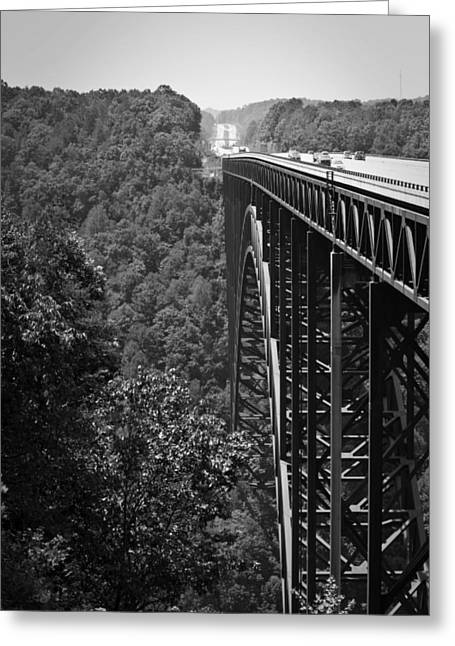 Fayetteville Greeting Cards - New River Gorge Bridge Fayetteville West Virginia Greeting Card by Teresa Mucha