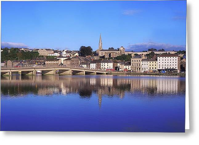 New Ross, Co Wexford, Ireland Greeting Card by The Irish Image Collection