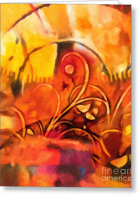 Symphony Greeting Cards - New World Symphony Greeting Card by Lutz Baar