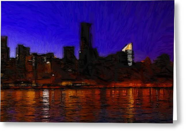 New Pastels Greeting Cards - New York Colors Greeting Card by Stefan Kuhn