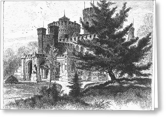 New York State: Castle Greeting Card by Granger
