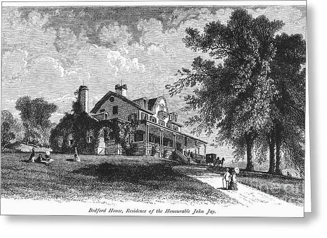 New York State: Mansion Greeting Card by Granger