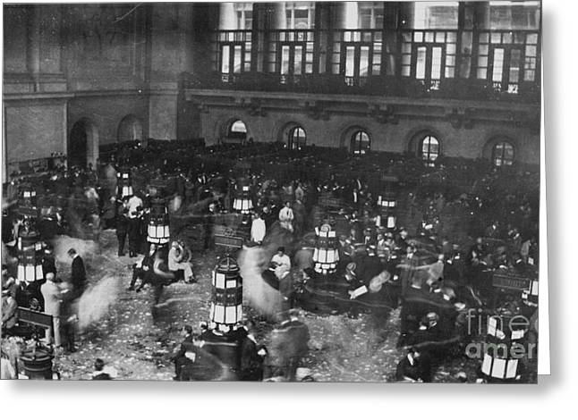 NEW YORK STOCK EXCHANGE Greeting Card by Granger