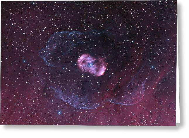 Ngc 6164, A Bipolar Nebula Greeting Card by Don Goldman