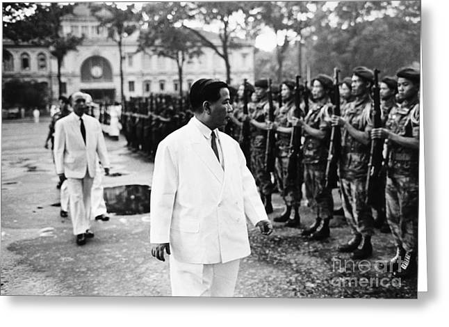 Vice President Photographs Greeting Cards - Ngo Dinh Diem (1901-1963) Greeting Card by Granger