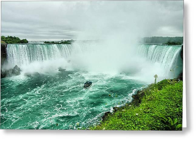 Fall Photographs Greeting Cards - Niagara Falls II Greeting Card by Steven Ainsworth