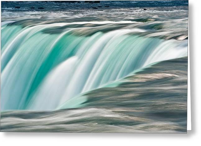 Niagara Falls Greeting Cards - Niagara Falls Number 2 Greeting Card by Steve Gadomski