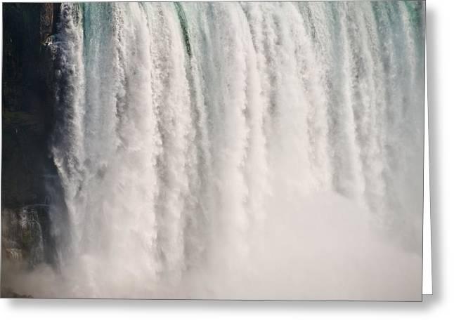 Niagara Falls Greeting Cards - Niagara Falls Greeting Card by Steve Gadomski